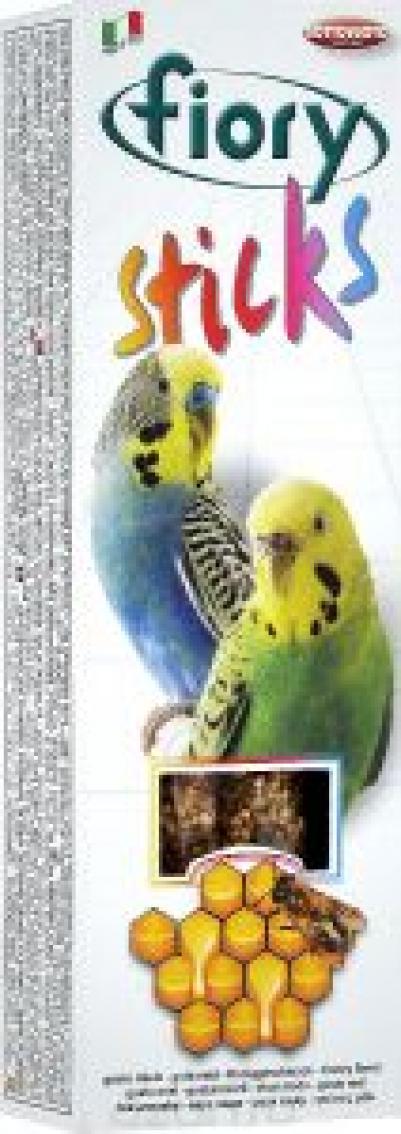 Fiory Sticks палочки для попугаев, с медом 60 гр