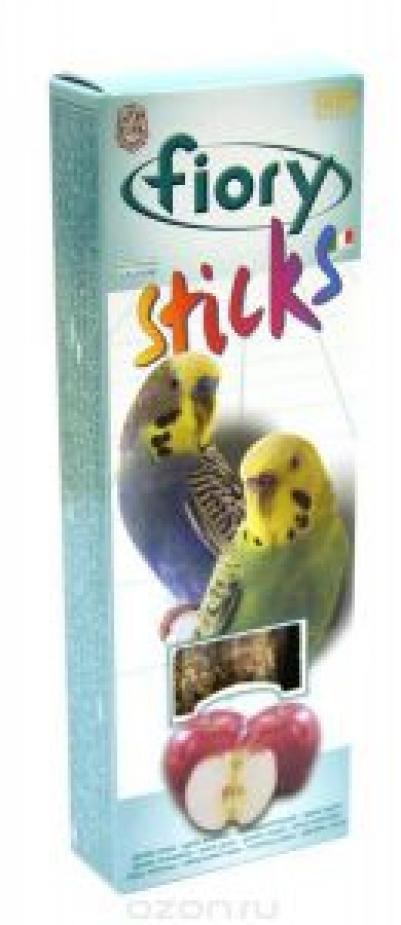 Fiory Sticks палочки для попугаев, с яблоком 60 гр