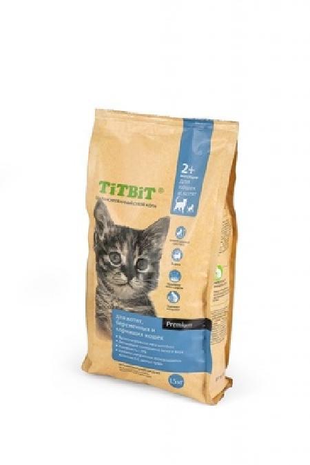 TiTBiT ВИА Сухой корм для котят , беременных и кормящих кошек (9130), 0,400 кг, 25480