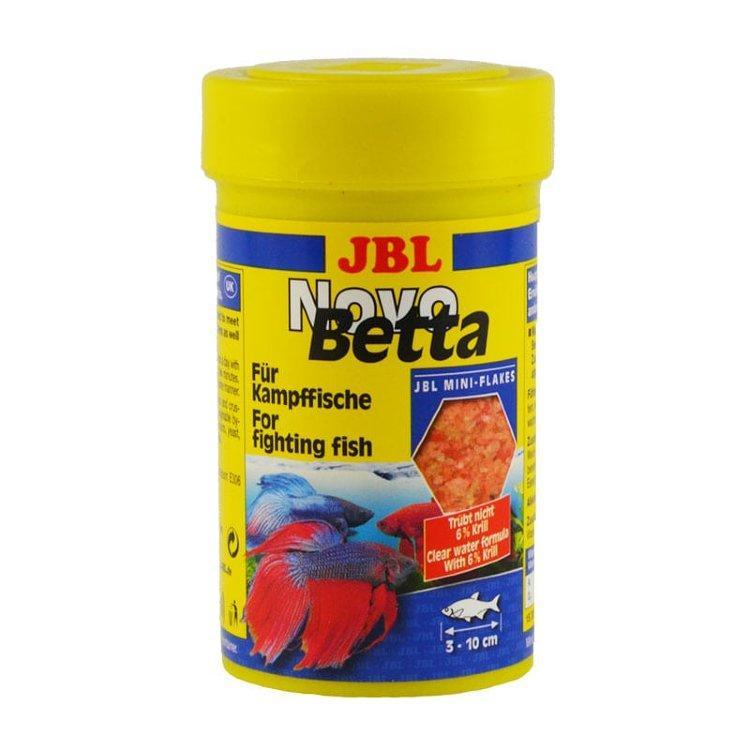 JBL NovoBetta - Осн. корм для бойцовых акв. рыб, хлопья, 100 мл (20 г)