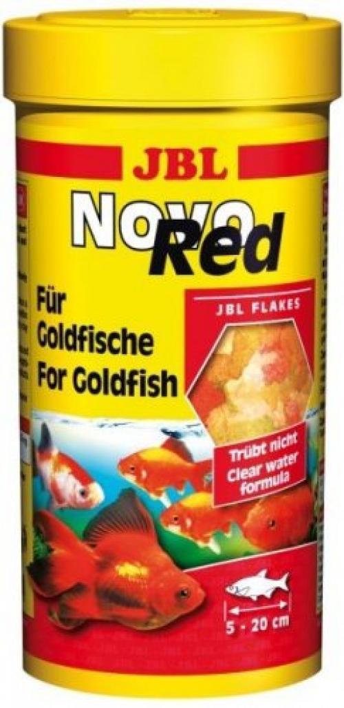 JBL NovoRed - Основной корм д/золотых рыб в форме хлопьев, 250 мл. (40 г.)