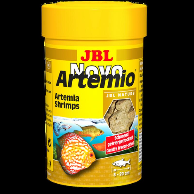 JBL NovoArtemio - Доп. корм с артемией для любых аквариумных рыб, 100 мл (6 г)