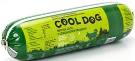 (t) Кул дог кон.д/собак мясной ролл с Говядиной и овощами 400г, 83708