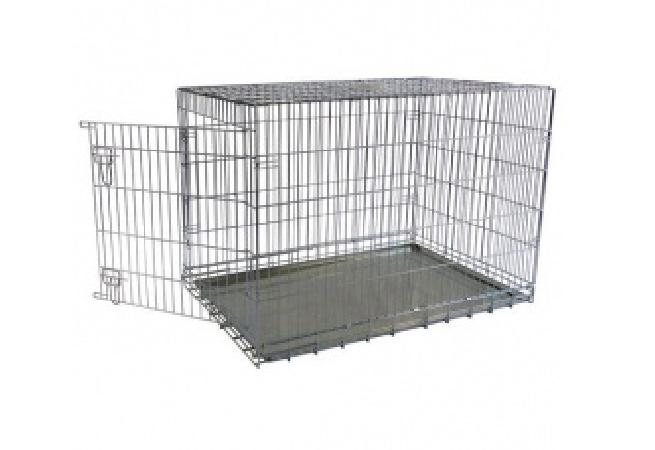 Papillon ВИА Клетка металлическая с 1 дверкой, 118*78*85см (Wire cage 1 door) 150118, 27,200 кг, 15237