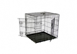 Papillon ВИА Клетка металлическая с 2 дверками, 61*54*58 см, черная (Wire cage black 2 doors)151261, 9,500 кг