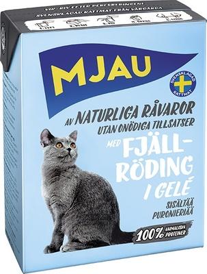 Mjau влажный корм для кошек всех пород и возрастов, арктический лосось 380 гр