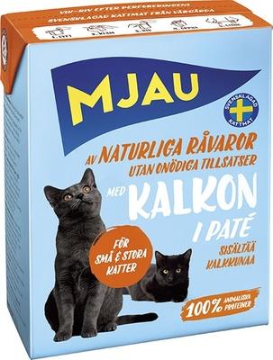 MJAU Консервы мясной паштет с индейкой 64422, 0,380 кг
