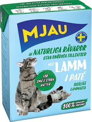 MJAU Консервы мясной паштет с ягненком 64421, 0,380 кг