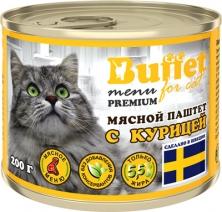 Баффет 9813 кон.д/кошек паштет с Курицей 200г, 84423