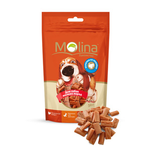 Molina лакомство для собак малых пород, палочки из индейки 50 гр