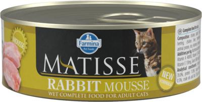 Farmina Matisse влажный корм для взрослых кошек, кролик 85 гр