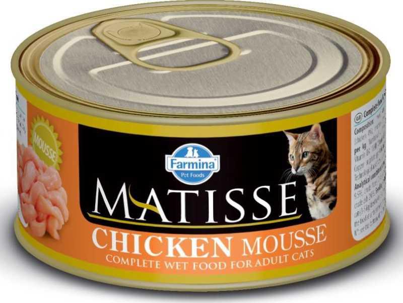 Farmina Matisse влажный корм для взрослых кошек, курица 85 гр