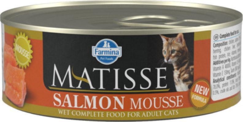 Farmina Matisse влажный корм для взрослых кошек, лосось 85 гр
