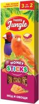 Happy Jungle Палочки для канареек лакомство для птиц 50 гр