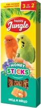 Happy Jungle Палочки мед с яйцом лакомство для птиц 50 гр