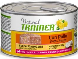 Трейнер 007126 Natural Small & Toy Puppy&Junior кон.д/щенков и юниоров мелких пород 150г, 81688