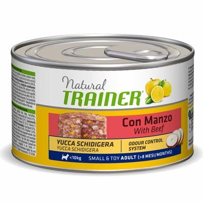 Trainer Консервы для собак малых пород с говядиной рисом и женьшенем 010/007140, 0,150 кг