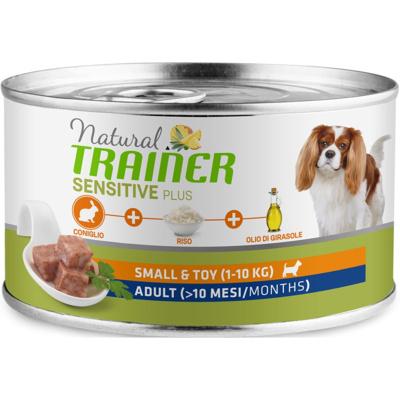 Trainer Консервы для взрослых собак малых пород с кроликом и рисом SENSITIVE PLUS Mini Adult  010/259529, 0,150 кг