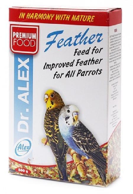 Dr.Alex Корм для волнистых попугаев Перо, 0,500 кг, 45177