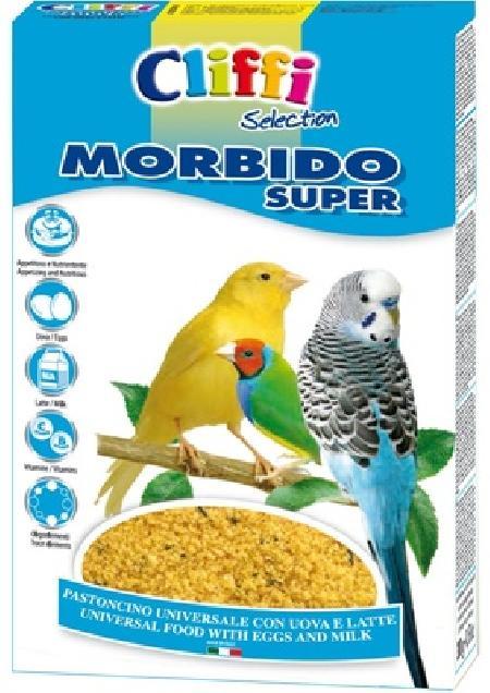 Cliffi (Италия) Яичный корм с молоком для всех Зерноядных птиц (Morbido Super) PCOA228 //, 1,000 кг