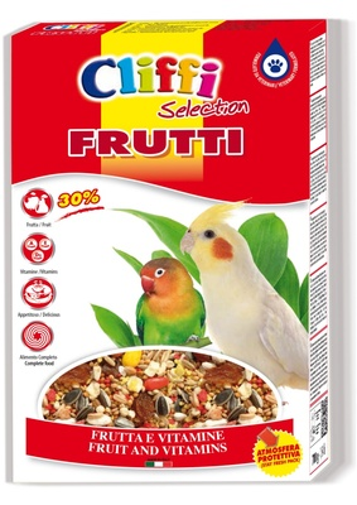 Cliffi (Италия) Для попугаев с фруктами и орехами (Super Premium Frutti) PCOA003, 0,700 кг