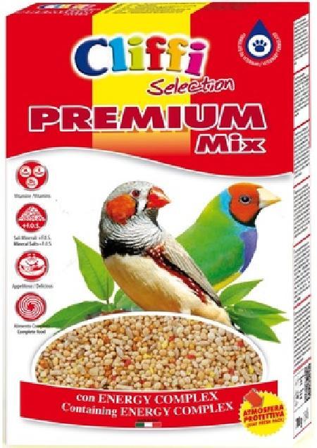 Cliffi (Италия) Для экзотических птиц  (Premium Mix Exotics) PCOA010, 0,800 кг