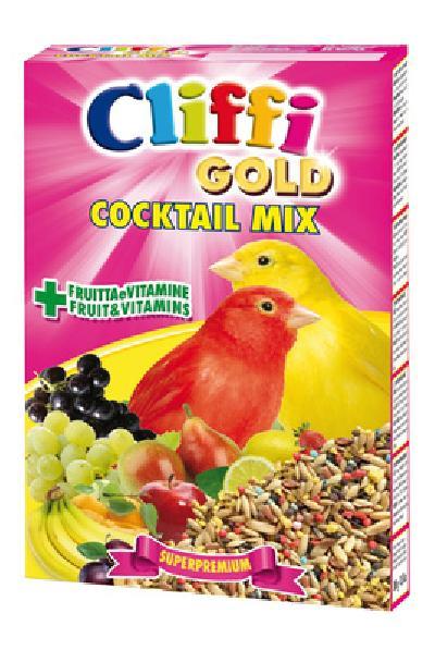 Cliffi (Италия) Коктейль для Канареек: зерна, злаки, фрукты, овощи (Cocktail Mix Canaries) PCOA005, 0,300 кг