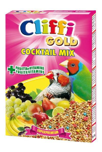Cliffi (Италия) Коктейль для Экзотических птиц: зерна, злаки, фрукты, овощи (Cocktail Mix Esotici) PCOA006, 0,300 кг