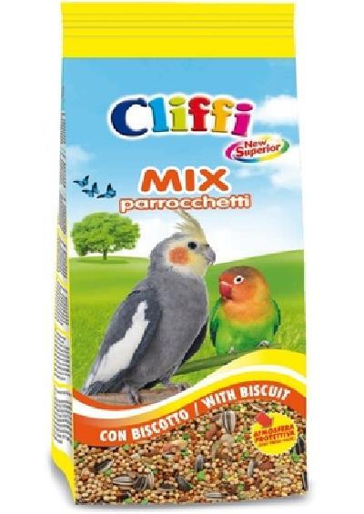 Cliffi (Италия) Смесь отборных семян для длиннохвостых попугаев с печеньем (Superior Mix Parakeets with biscuit) ACOA124, 5,000 кг, 51108