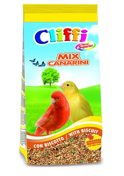Cliffi (Италия) Смесь отборных семян для канареек с бисквитом (New Superior Mix Canaries with biscuit) ACOA128, 5,000 кг