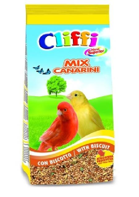 Cliffi (Италия) Смесь отборных семян для канареек с бисквитом (New Superior Mix Canaries with biscuit), 1,000 кг