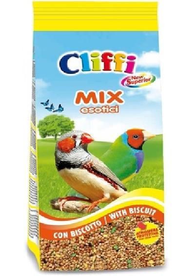 Cliffi (Италия) Смесь отборных семян для попугаев и экзотических птиц с бисквитом (Superior Mix Exotics with biscuit) PCOA113, 1,000 кг