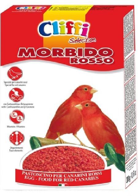 Cliffi (Италия) Яичный корм для красных канареек (Morbido Rosso) PCOA223, 0,300 кг, 40368