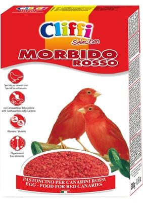 Cliffi (Италия) Яичный корм для красных канареек (Morbido Rosso) PCOA230, 1,000 кг, 40369