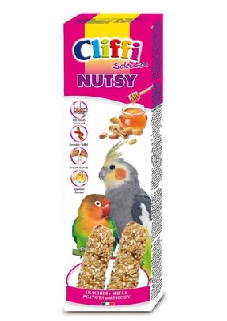 Cliffi (Италия) Лакомства для Длиннохвостых попугаев: Палочки с арахисом и медом (Sticks parakeets with peanuts and honey) PCOA423, 0,150 кг, 40363