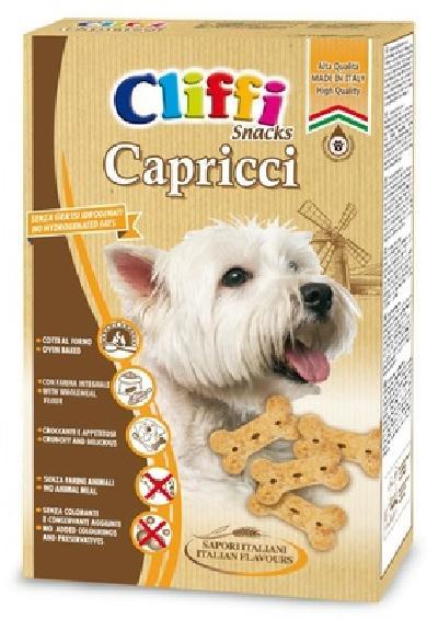 Cliffi (Италия) Лакомство для собак Хрустящие косточки (Capricci) PCAT205, 0,400 кг