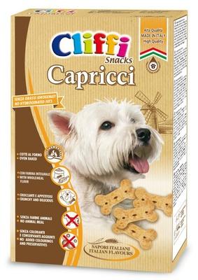 Cliffi (Италия) Лакомство для собак Хрустящие косточки (Capricci) PCAT205, 0,400 кг, 15540