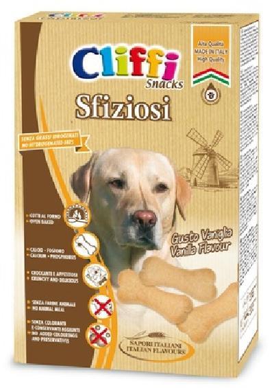 Cliffi (Италия) Лакомство для собак Бисквиты с кальцием (Sfiziosi) PCAT209, 0,400 кг