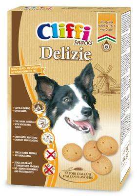 Cliffi (Италия) Лакомство для собак Воздушные шарики (Delizie) PCAT207, 0,400 кг, 15541