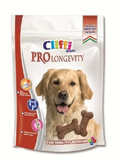 Cliffi (Италия) Лакомство для собак Долголетие  (Pro gevity snack) PCAT235, 0,100 кг, 15561