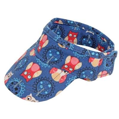 Pinkaholic ВИА Козырек с совами, темно синий, размер L (DAWNING CAP/NAVY/L) NAOA-CP7047-NY-L, 0,080 кг