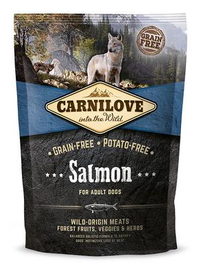 Carnilove Беззерновой корм для взрослых собак всех пород Salmon for Adult с лососем 150826, 1,500 кг, 54513