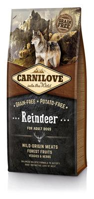 Carnilove Беззерновой корм для взрослых собак всех пород Reindeer for Adult с северным оленем 150820, 12,000 кг, 54515