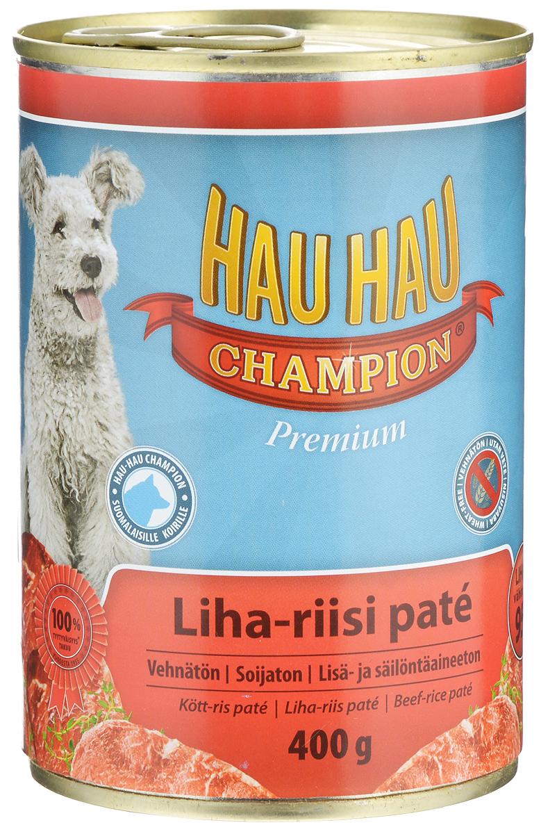 [81193]    HHC Beef-rice pate 400 g - Паштет из говядины с рисом 1/12 , 81193