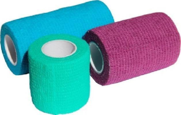 Luxsan Бинт самофиксирующийся 7,5см х 450см Фиолетовый, 0,031 кг