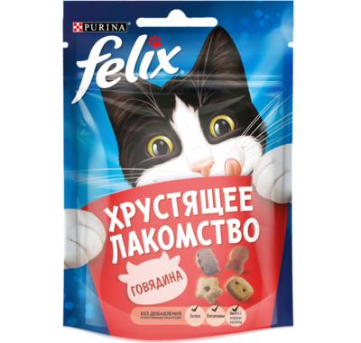 Felix лакомство для кошек всех пород и возрастов, гриль микс (говядина, курица, лосось) 20 гр