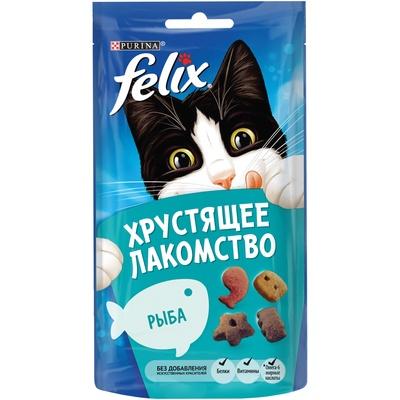 Felix Хрустящее лакомство Рыба (12393618), 0,060 кг