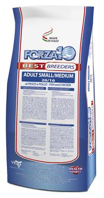 Forza10 ВИА Сухой корм Best Breeders для взрослых собак мелких и средних пород из , 20,000 кг