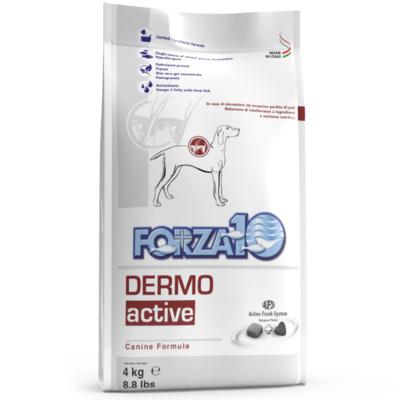 Forza10 Диетический корм Dermo Active для взрослых собак при кожных заболеваниях 0903004, 4,000 кг