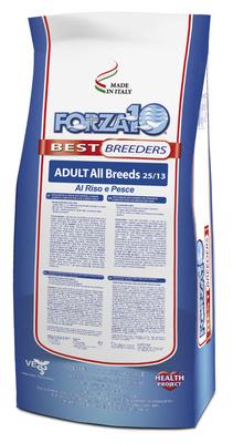 Forza 10 корм для взрослых собак всех пород, с микрокапсулами, рыба и рис 20 кг
